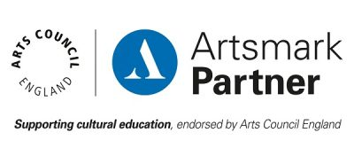Arts Council England Artsmark Partner, supporting cultural education, endorsed by Arts Council England.
